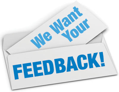 We have not received your feedback